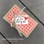 Create this double nugget treat holder using Stampin