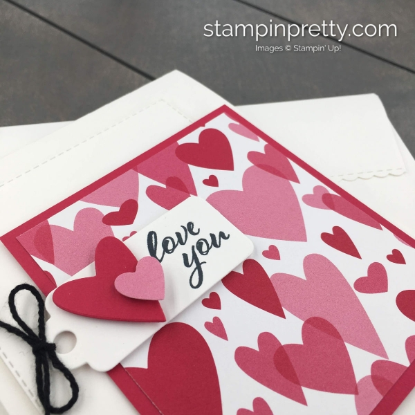 Learn how to creae this valentine using the Meant to Be Bundle From Stampin' Up!