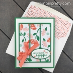 Learn How to Create this Giggle Together Card using the Happiness Blooms Suite of Products from Stampin