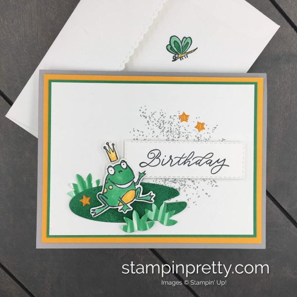 Learn How to Create this birthday card using the So Hoppy Together Sale-A-Braiton Stamp Set by Stampin' Up! Created by Mary Fish, Stampin' Pretty