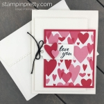 Learn how to creae this valentine using the Meant to Be Bundle From Stampin