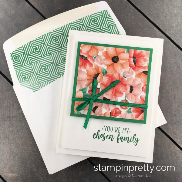 Learn how to create this friend card using the Painted Seasons Bundle by Stampin' Up! Mary Fish, Stampin' Pretty