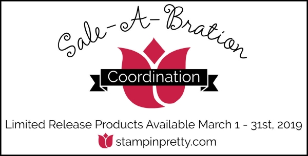 Sale-A-Bration Coordination Products March 1 -March 31, 2019