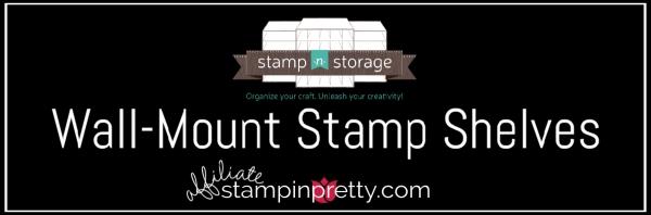 Stamp N Storage Stamp Shevles