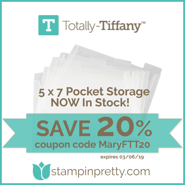 Save 20% with Totally Tiffany
