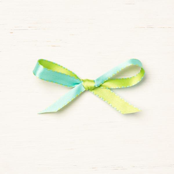 148572 Coastal Cabana/Granny Apple Green Ribbon