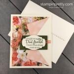 Create this Friend Card using Petal Promenade Designer Series Paper from Stampin