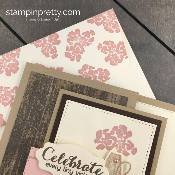 Create this Handmade Card using the Vibrant Vases Stamp Set by Stampin' Up! Card by Mary Fish, Stampin' Pretty