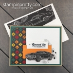 Create this card using the Geared Up Garage Bundle by Stampin