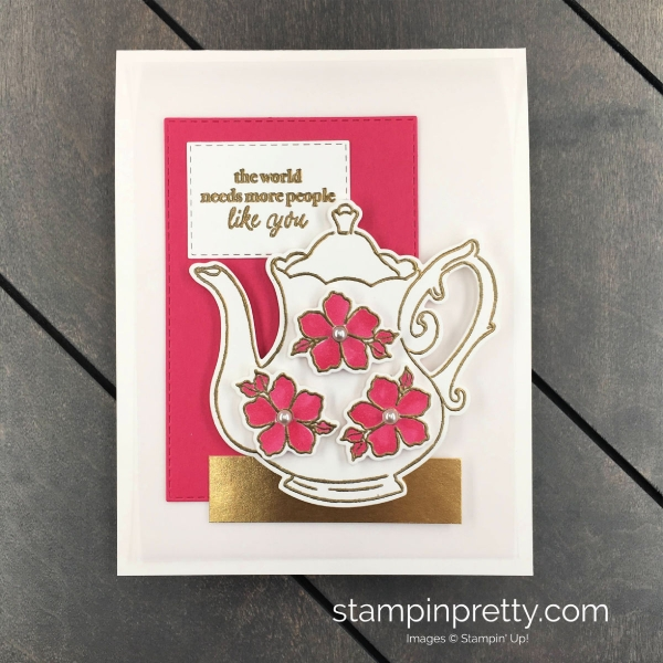 Create this card using the Part of My Story Stamp Set by Stampin' Up! Mary Fish, Stampin' Pretty.