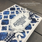 Create this friend card using the Florentine Filigree Bundle by Stampin