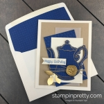 Create this handmade card using the Tea Together and Time for Tea Framelits Dies by Stampin