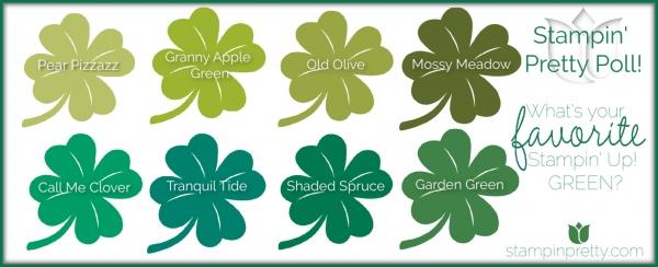Favorite Stampin' Up! Greens
