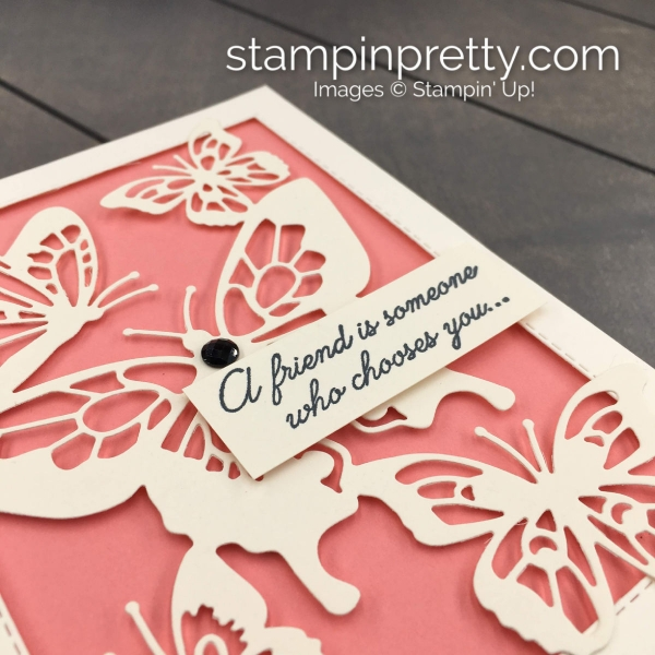 Beauty Abounds Butterfly Beauty Thinlits by Stampin' Up! Card by Stampin' Pretty, Mary Fish