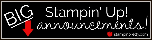 Big Stampin' Up! Announcements