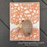 Create this Simple Saturday Card - Bye Bye Detailed Floral Dies by Stampin