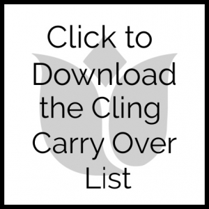 Download the Cling Stamp Set Carry Over List