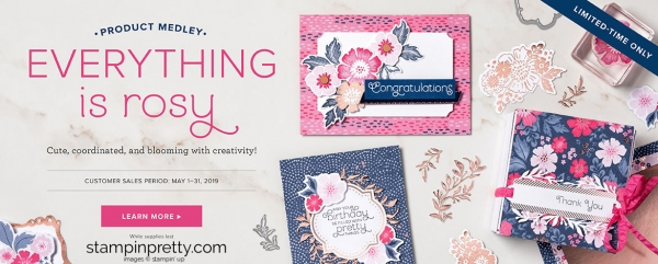 Everything is Rosy Product Medley Header
