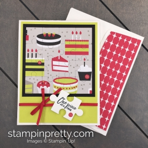 Love You To Pieces Bundle by Stampin' Up! Card Learn how to create this card from Mary Fish, Stampin' Pretty