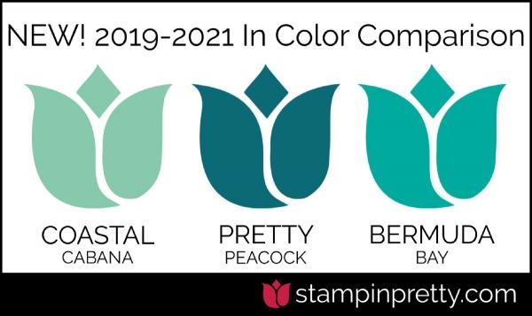 New In-Color Comparison - Pretty Peacock