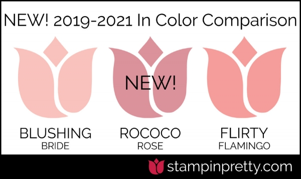 New In-Color Comparison - Rococo Rose