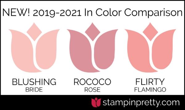 New In-Color Comparison - Rococo Rose