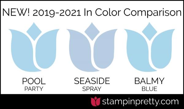 New In-Color Comparison - Seaside Spray