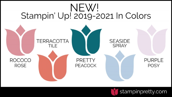 New Stampin' Up! In Colors 2019-2021