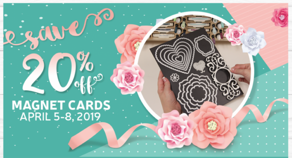 20% Off Magnet Cards Stamp-N-Storage