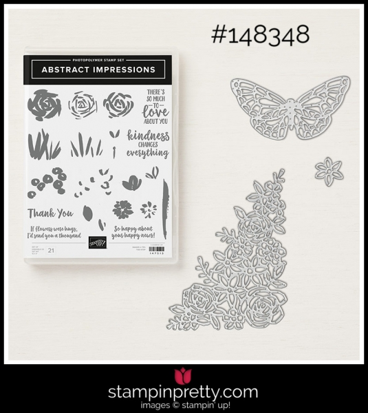 Stampin' Up! Bundle Abstract Impressions