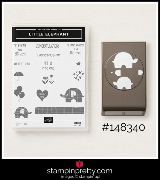 Stampin' Up! Bundle Little Elephant