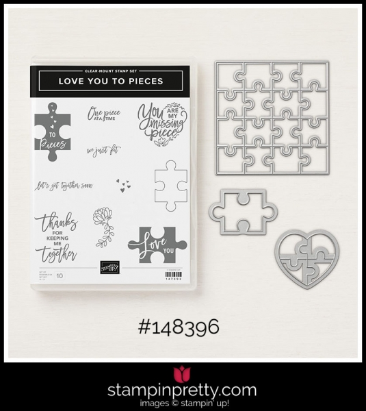 Stampin' Up! Bundle Love You To Pieces Clear Mount
