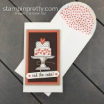 Create this Narrow Note Birthday Card using the Piece of Cake Bundle by Stampin