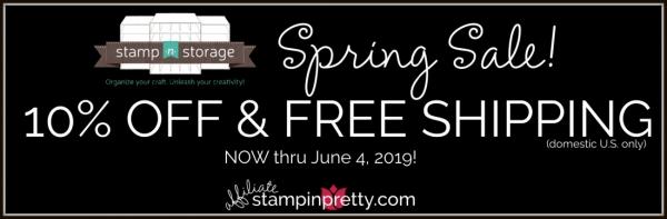 Stamp-n-Storage Spring Sale