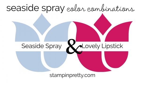 Seaside Spray & Lovely Lipstick Colored Tulips