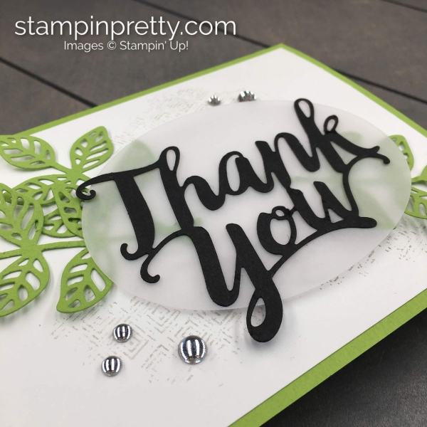 Create this handmade card duo using the Thank You Die by Stampin' Up! Mary Fish, Stampin' Pretty