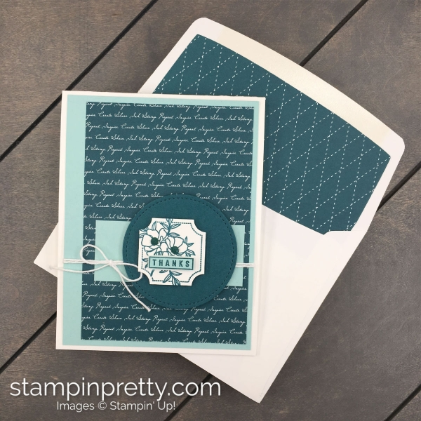 Stampin' Up! 2019-2021 Pretty Peacock In Color Combinations created by Mary Fish, Stampin' Pretty