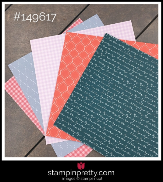 Stampin' Up! In Color Designer Series Paper 6 x 6