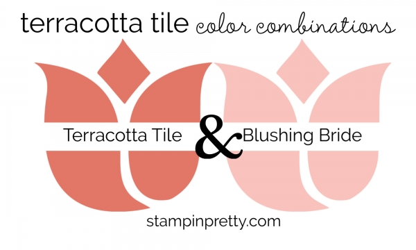 Terracotta Tile & Blushing Bride Colored Tulips