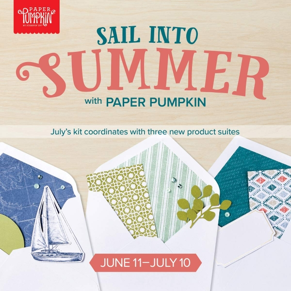 Paper Pumpkin July Kit