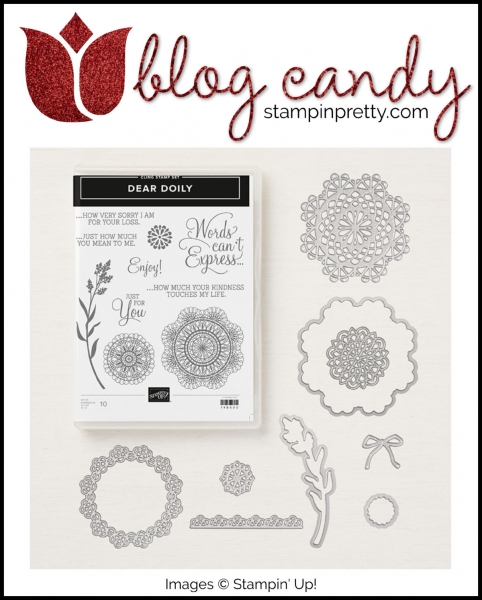 Blog Candy Dear Doily