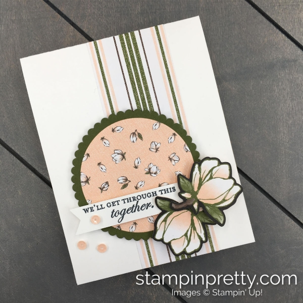 Good Morning Magnolia Bundle by Stampin' Up! . Card created by Mary Fish, Stampin' Pretty