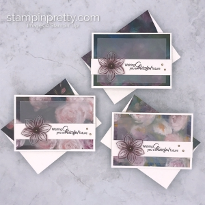 Perennial Essence Designer Series Paper and the Floral Essence Bundle by Stampin' Up! Mary Fish, Stampin' Pretty