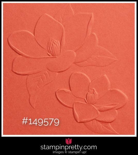 Stampin' Up! Magnolia 3D Embossing Folder 149579