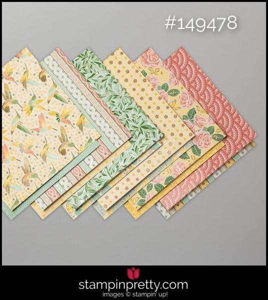 Stampin' Up! Mosaic Mood Designer Series Paper
