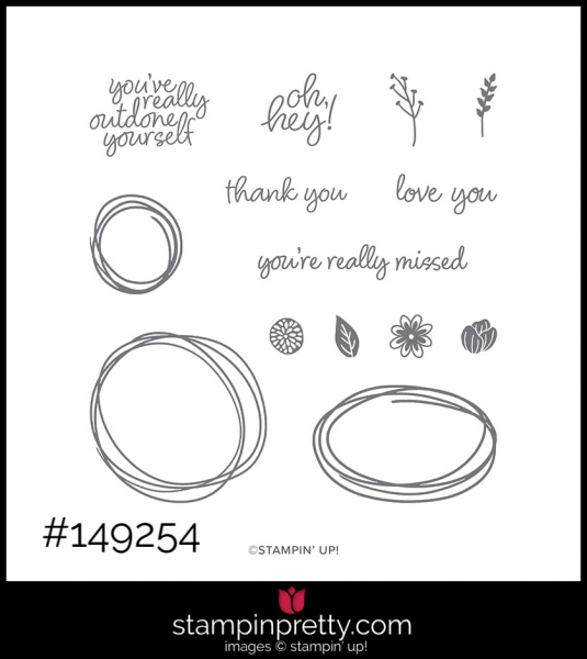Stampin' Up! Sweetly Swirled Stamp Set