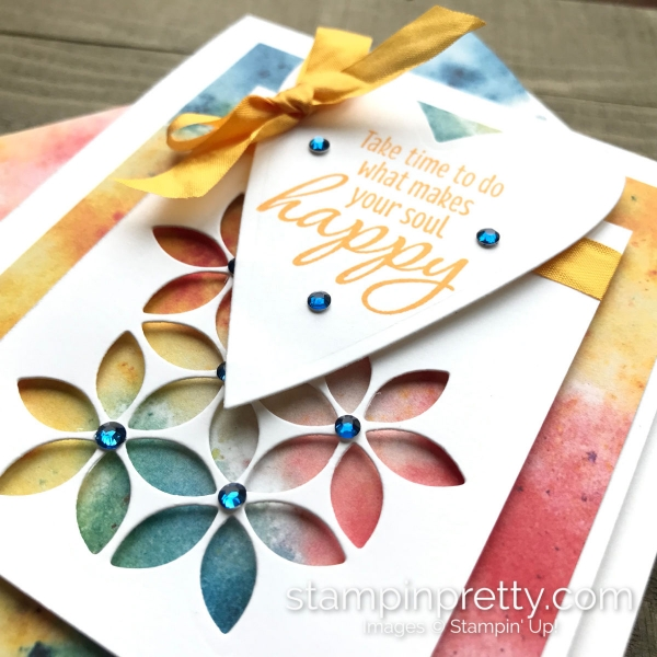 Tasteful Textures Bundle by Stampin' Up! Card by Mary Fish, Stampin' Pretty