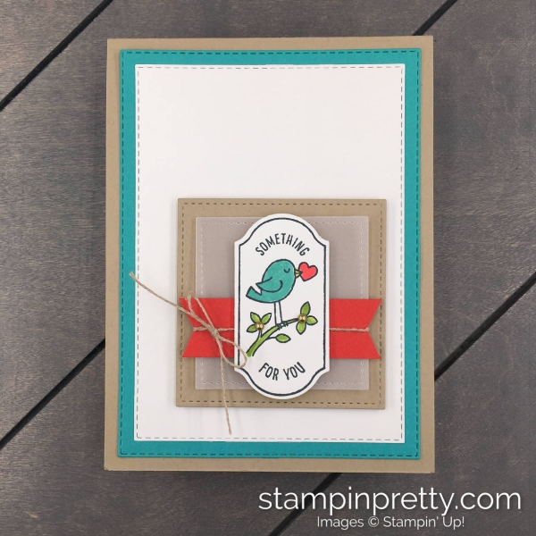 Time for Tags Stamp Set & Timeless Label Punch by Stampin' Up! Card by Mary Fish, Stampin' Pretty