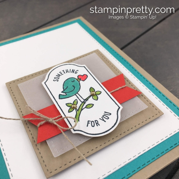 Time for Tags Stamp Set & Timeless Label Punch by Stampin' Up! Card by Mary Fish, Stampin' Pretty(1)