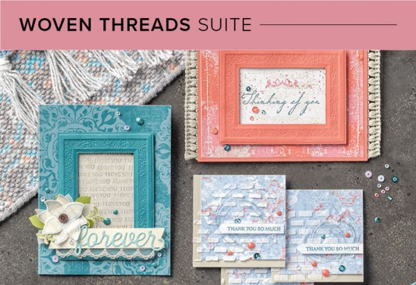 CM101001 Woven Threads Suite by Stampin' Up!